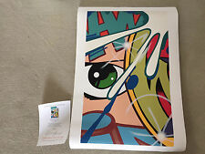 John CRASH Matos PROVACIVATION print Graffiti Modern POP Art #26 of 50 RARE!