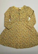 Gymboree Equestrian Club yellow floral knit dress girls size 3 3T