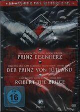 Klassiker des Ritterfilms (3 DVD´s) - Prinz Eisenherz, Robert The Bruce... - neu