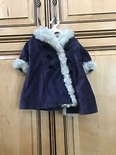 "American Girl Doll 18"" Samantha Retired Velveteen Holiday Coat ONLY"