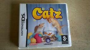 CATZ - GIRLS CAT KITTEN NINTENDO DS GAME / LITE DSi 3DS COMPATIBLE FAST POST VGC