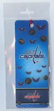 WASHINGTON CAPITALS NHL 3D HOLOGRAM BOOKMARK SEALED !!