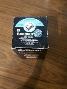 Vintage Beeman H&N Match Wadcutter 3011 .177 4 tins,3 sealed,1tin almost full.