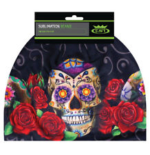 Sublimation Sugar Muerte Skull Day Of Dead Stocking Hat Cap Beanie Fleece Lined