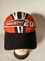 Home Depot #20 Tony Stewart Joe Gibb Racing NASCAR Chase Cap Hat Orange Black