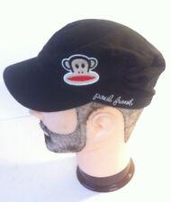Paul Frank Black Castro Style Hat Cap One Size kids monkey