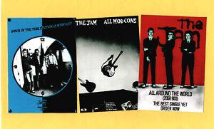 JAM. 3 STICKER SET. Punk, Mod, Paul Weller.