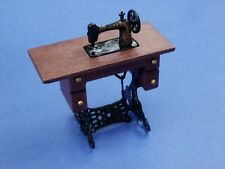 Miniature Dollhouse Sewing Machine 1:12 Scale New