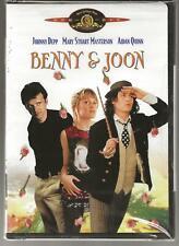 MGM Benny & Joon, 1993 Romance Comedy, Johnny Depp, NEW DVD