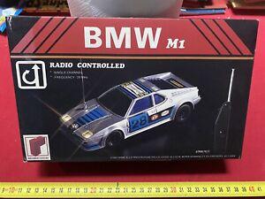 BMW M1 RADIOCOMANDATA RICORDI GIOCHI 1:16 RARISSIMA NUOVA VINTAGE