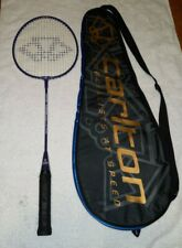 Carlton Contract C9000 Badminton Racket Purple DuraNamel Coated With Bag