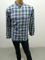 Camicia TOMMY HILFIGER Uomo Shirt Man Chemise Homme Cotone Taglia Size XL 8114