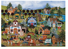 """Jigsaw Puzzles 1000 Pieces """"Happy shopping"""" / Jane Wooster Scott"""