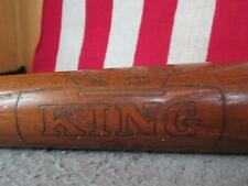 """Vintage 1960s King Pro Wood Baseball Bat Leader Ken Boyer Model 33"""" Cardinals"""