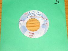 """INSTRUMENTAL 45 RPM - BILL JUSTIS - PHILLIPS 3519 - """"RAUNCHY"""" + """"MIDNIGHT MAN"""""""