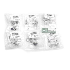 6Pcs Fuel Injectors Seals Repair O-ring Kit for 2.8L 3.0T 3.2L VW Audi 06E998907