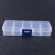 3 pièces 10 COMPARTIMENT PETIT Stockage Organisateur Boîte en plastique Craft