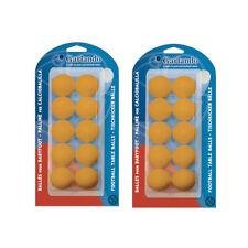 GARLANDO Palline Calciobalilla Standard 33,1mm - 20 pezzi colore ARANCIONE