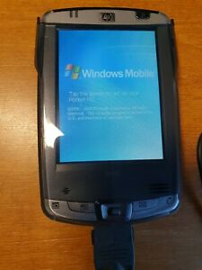 HP iPAQ Pocket PC HX2110 Handheld Win 2003, with charger, cd and data cable