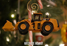 Custom Caterpillar CAT 980K Wheel Loader 1/94 Christmas Ornament Deere Volvo