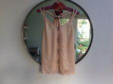 Naked Zebra Shell Pink Top size M