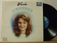 ★★ LP - NICOLE - So Viele Lieder Sind In Mir - Jupiter DMM 1983