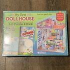 My First Dollhouse 3-D Foam Puzzle & Activity Book Read Build Beach Haven