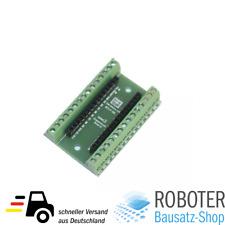 Bausatz Arduino Nano V3.0 terminal Adapter I/o PCB