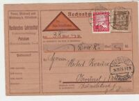 germany 1925  stamps card ref 18952