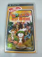 Worms Open Warfare THQ - Juego PSP PlayStation Edicion Española - 3T