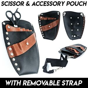 Scissor & Accessory Pouch Barbers Hairdressing Salon Tool Comb Holster Bag Strap