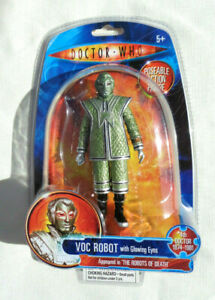 Doctor Who VOC ROBOT with Glowing Eyes The Robots Of Death action figure