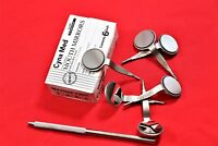 6 PC DOUBLE SIDED ORAL DENTAL MIRROR #5 SURGICAL DENTAL INSTRUMENTS