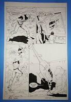 Freemind #4 page 4 Original Art Mike Leeke & Bob McCleod Future Comics 2003