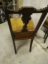 Lovely Antique Vintage Single Chair With Beautiful Carvings.Preowned Item.
