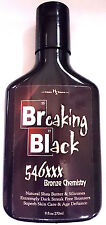 Breaking Black 546XXX Extreme Pure Bronzing Indoor Tanning Bed Lotion Hoss Sauce