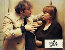 PATRICK DEWAERE MARIE TRINTIGNANT SERIE NOIRE 1979 PHOTO D'EXPLOITATION N°4