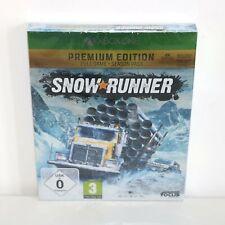 Snowrunner - Microsoft Xbox ONE TRUCKER Game - New & Sealed - PREMIUM EDITION 4K