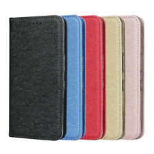 Hot Sales New Design For Sharp Andriod One S4 Silk Cord Leather Mobile PhoneCase