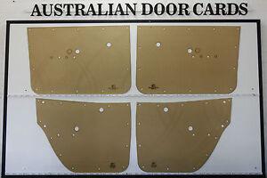Holden HK Door Cards, Blank Trim Panels. Sedan, Wagon.