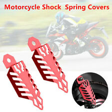 Motorcycle ATV Off Road Aluminium Dust Shock Absorber Spring Covers Protect Fork
