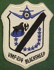 Marine Fighter Squadron VMF-214 Blacksheep Patch