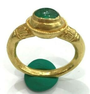 AYUTTHAYA PERIOD  origin Thai Gold ring  A 600 year old