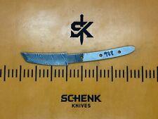 Tanto Twist Damascus High Carbon Steel Knife Blade Blank Billet 938