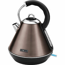 Luxury Stainless Steel Kettle Champagne 1850-2200 Watt Retro 55117517