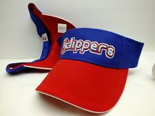 Los Angeles Clippers NBA Basketball Sun Visor Hat Cap Blue / Red by Reebok NEW!