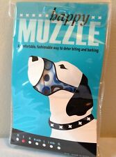Dog muzzle adjustable, size S for dogs 15-35 pounds