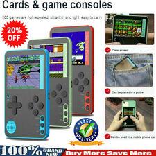 Consola De Juegos Retro de mano built-in 500 juegos clásicos regalos de pantalla de 2.4 pulgadas
