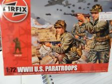 Airfix WWII US Paratroops 1/72 Scale Plastic Model Kit