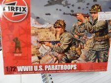 1/72 Airfix WW2 U S  paratroops